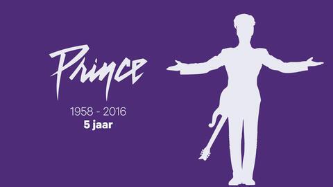 """Afbeelding voor fragment: Prince ging 5 jaar geleden van ons heen: """"Nog duizenden nieuwe songs in een kluis"""""""