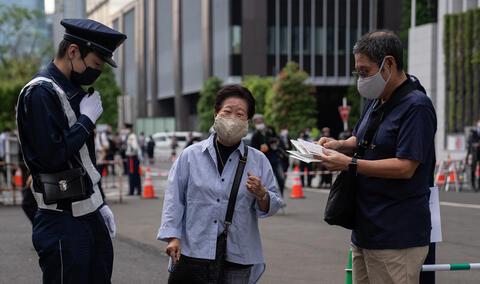 """Afbeelding voor fragment: VS raadt reizen naar Japan voor Olympische Spelen af vanwege COVID-19: """"Een donderslag bij heldere hemel"""""""