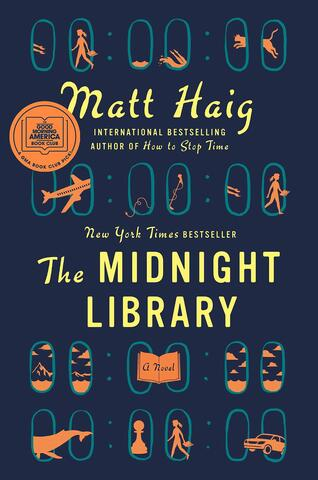 Afbeelding voor fragment: Linde Merckpoel las 'The Midnight Library' van Matt Haig.