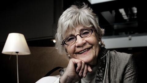 """Afbeelding voor fragment: Paula Sémer zet zich in voor campagne over kopzorgen bij ouderen: """"Drempel om hulp te vragen ligt heel hoog bij ouderen"""""""