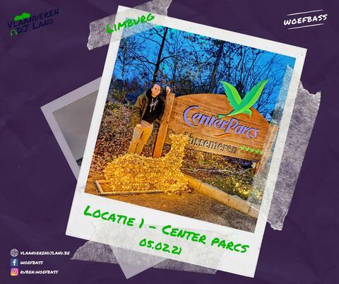Afbeelding voor fragment: Vlaanderen DJ land. Woefbass speelt set in Centerparcs Vossemeren om bedrijven en organisaties te steunen