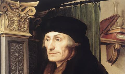 Afbeelding voor fragment: Wie was Erasmus nu echt?